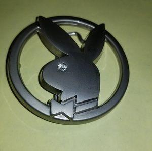 Playboy belt buckle